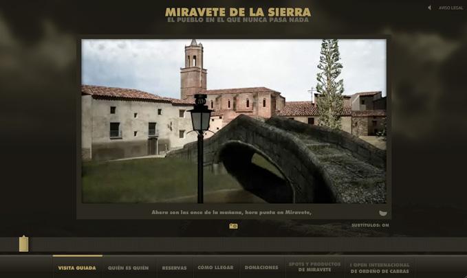 witryna internetowa Miravete de la Sierra